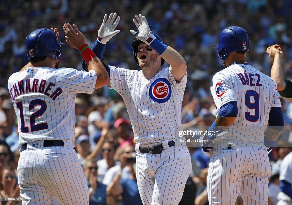 Oakland Athletics v Chicago Cubs : News Photo
