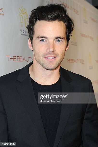Ian Harding arrives at The Beauty Book For Brain Cancer Edition Two Launch Party sponsored by Voices Against Brain Cancer on December 3 2015 in Los...