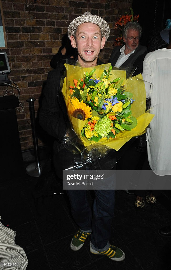 Ian Hart attends the afterparty following the press night of 'Speaking In Tongues', at the Jewell Bar on September 28, 2009 in London, England.