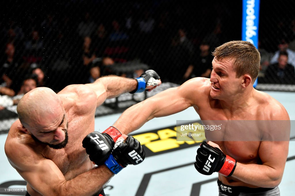 UFC 245: Heinisch v Akhmedov : News Photo
