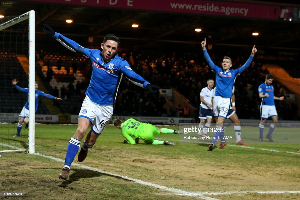 Rochdale AFC v Millwall - The Emirates FA Cup Fourth Round Replay : News Photo