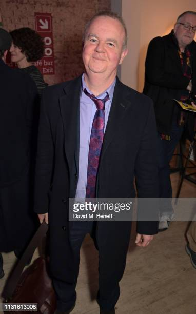 Ian Hislop attends the press night after party for 'The Life I Lead' at The Park Theatre on March 19 2019 in London England