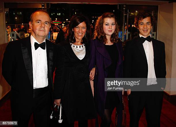 Ian Hislop wife Victoria and childrewn Emily and William attend the Cinema Television Benevolent Fund Royal Film Performance 2008 'A Bunch Of...