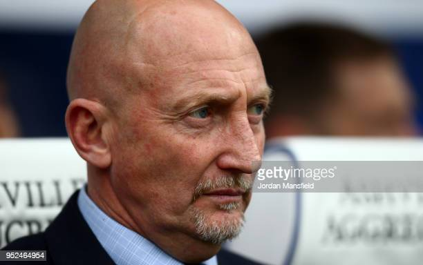 Ian Holloway ,manager of Birmingham looks on during the Sky Bet Championship match between Queens Park Rangers and Birmingham City at Loftus Road on...