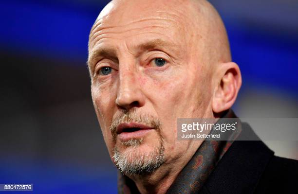 Ian Holloway Manager of Queens Park Rangers during the Sky Bet Championship match between Queens Park Rangers and Brentford at Loftus Road on...