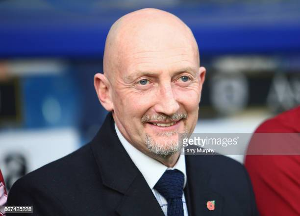 Ian Holloway manager of Queens Park Rangers looks on prior to the Sky Bet Championship match between Queens Park Rangers and Wolverhampton Wanderers...