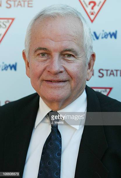 Ian Holm during Garden State Los Angeles Premiere Arrivals at Directors Guild of America in Los Angeles California United States