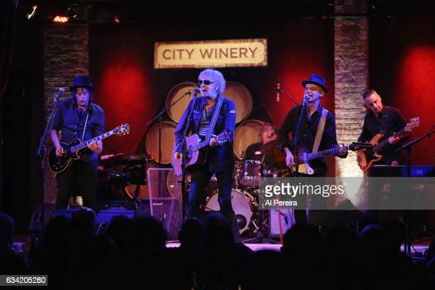 Ian Hunter The Rant Band perform at City Winery on February 7 2017 in New York City