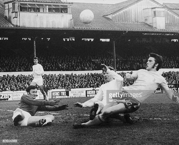 Ian Hutchinson of Chelsea is challenged by Dave Robinson of Birmingham City during an FA Cup third round match at Stamford Bridge London 3rd January...
