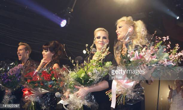 Ian 'H'Watkins Lisa ScottLee Claire Richards and Faye Tozer of Steps perform at at GAY on March 17 2012 in London England