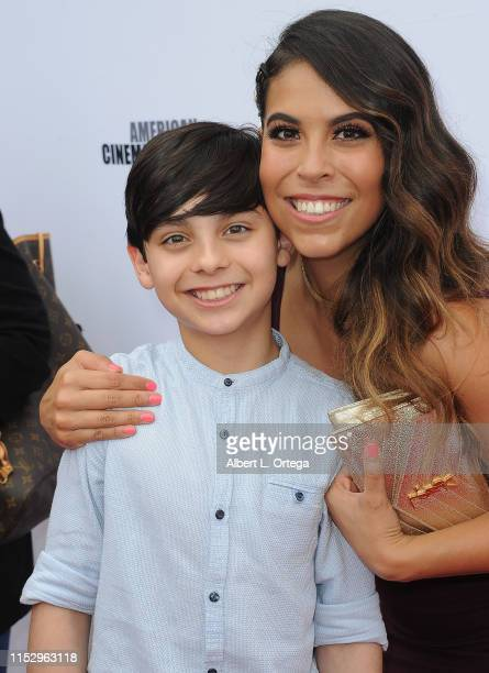 Ian Inigo and Gigi Guerrero attend the 6th Annual Etheria Film Showcase held at American Cinematheque's Egyptian Theatre on June 29 2019 in Hollywood...