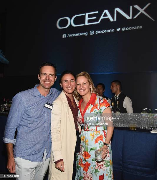 Ian Kellet VICE Publisher Katherine Keating and Jennifer Hile attend the Launch Of OceanX a bold new initiative for ocean exploration at the American...