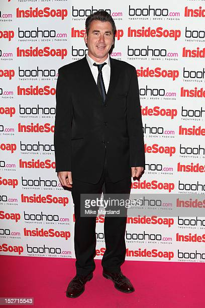 Ian Kelsey attends the Inside Soap Awards at One Marylebone on September 24 2012 in London England
