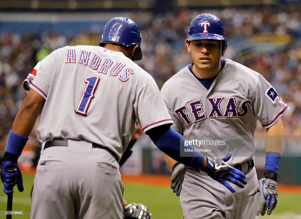 Texas Rangers v Tampa Bay Rays - Game 4