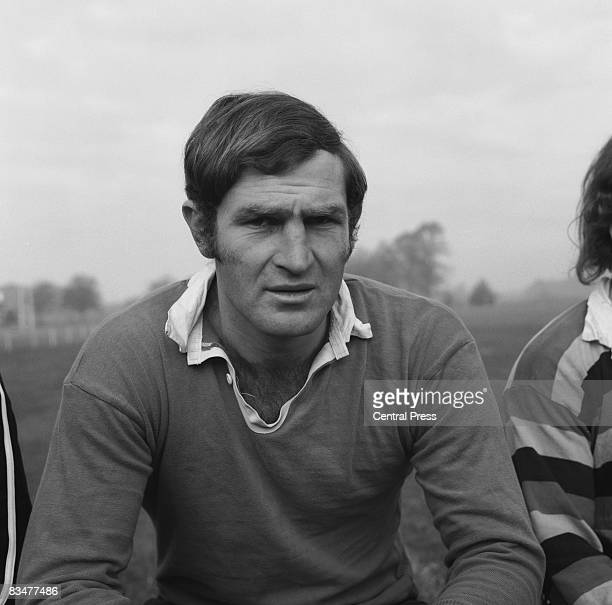 Ian Kirkpatrick captain of the New Zealand All Blacks rugby team 25th October 1972