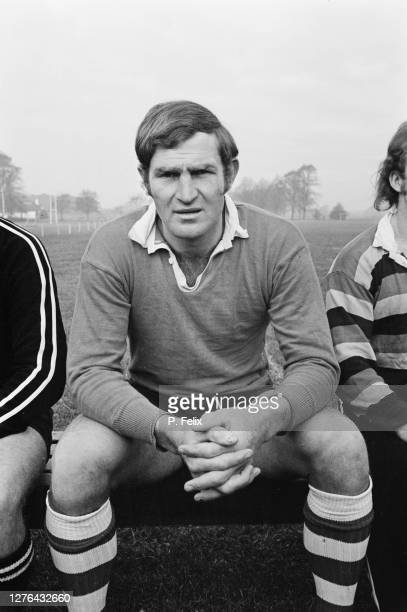Ian Kirkpatrick of the New Zealand rugby team, aka the All Blacks, UK, 24th October 1972.