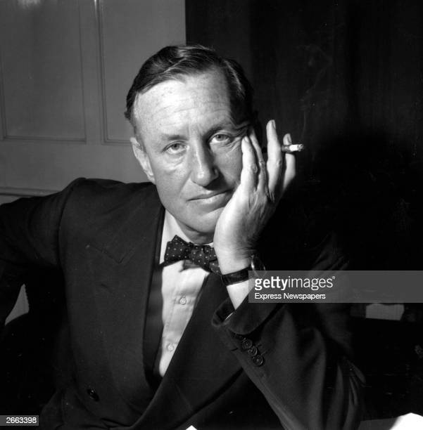Ian Lancaster Fleming British author and creator of the James Bond character