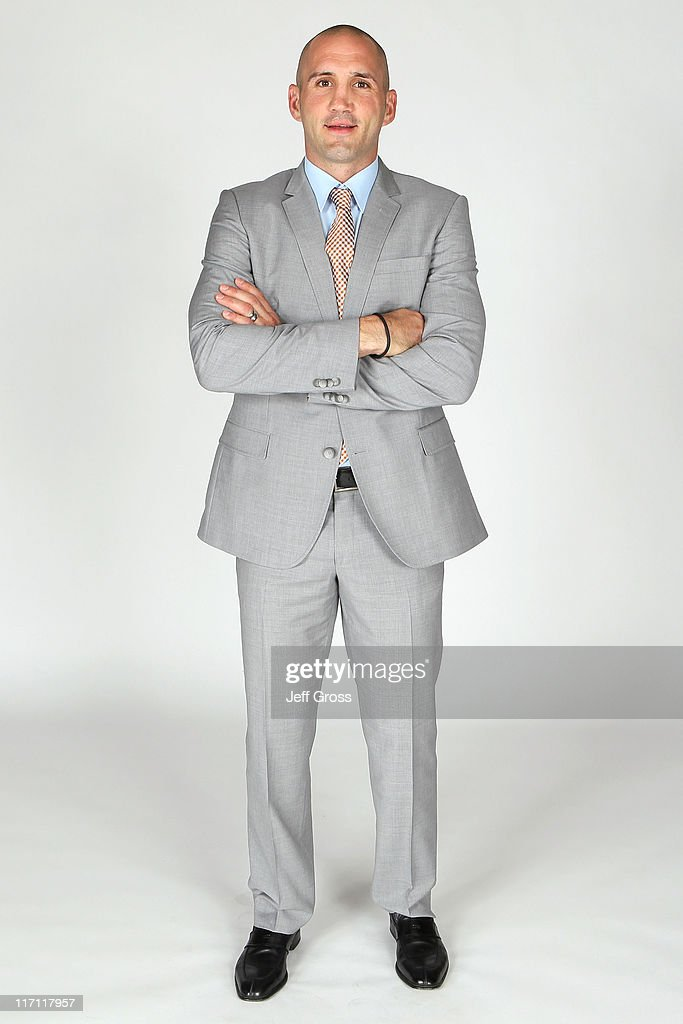 Ian Laperriere of the Philadelphia Flyers poses for a portrait during the 2011 NHL Awards at the Palms Casino Resort June 22, 2011 in Las Vegas, Nevada.