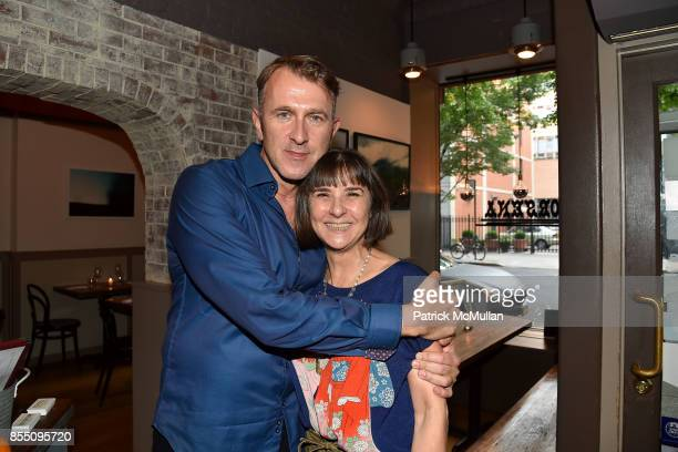 Ian MacRae and Karen Kleber attend the Bill Westmoreland Exhibit Opening Reception at Porsena on September 17 2017 in New York City