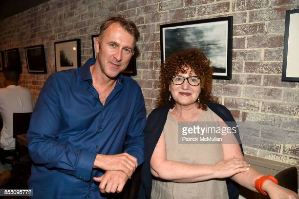 Ian MacRae and Wendy Snyder attend the Bill Westmoreland Exhibit Opening Reception at Porsena on September 17 2017 in New York City