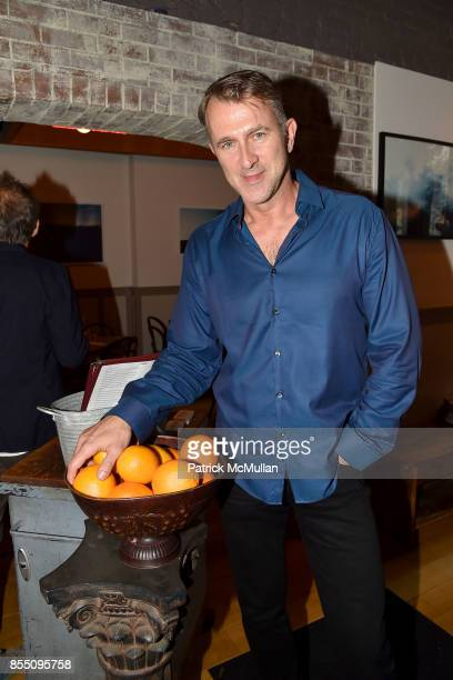 Ian MacRae attends the Bill Westmoreland Exhibit Opening Reception at Porsena on September 17 2017 in New York City
