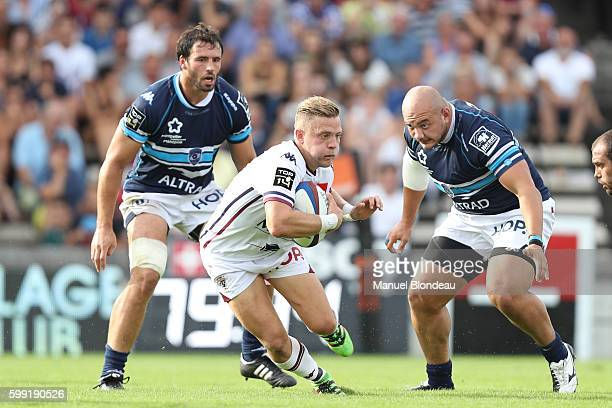 Ian Madigan of Bordeaux during the French Top 14 match between Union BordeauxBegles and Montpellier at Stade ChabanDelmas on September 4 2016 in...