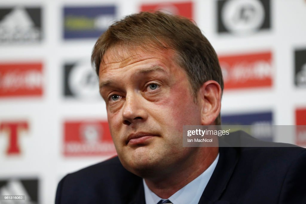 New Scottish FA Chief Executive Unveiling