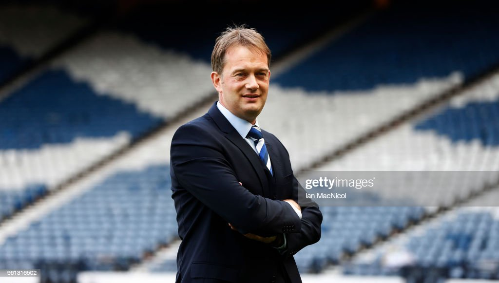 New Scottish FA Chief Executive Unveiling : News Photo