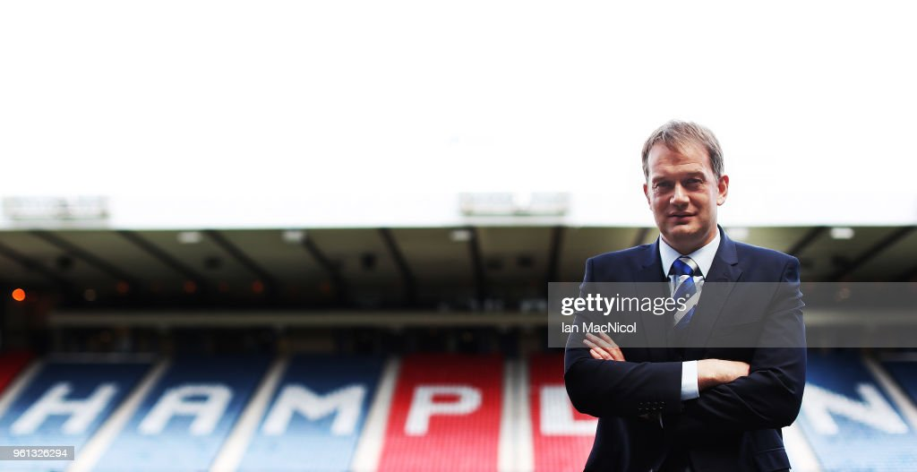 New Scottish FA Chief Executive Unveiling