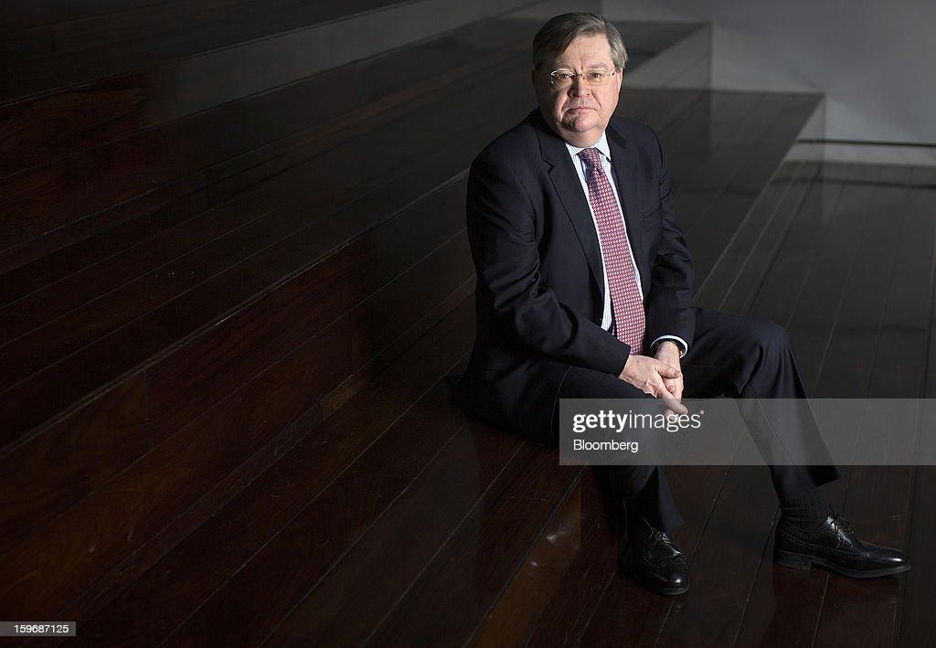 Ian McCafferty, a policy maker at the Bank of England, poses for a photograph following a Bloomberg Television interview in London, U.K., on Friday, Jan. 18, 2013. McCafferty said officials must have an open mind about ways to help the recovery, signaling he may support new measures if needed to target specific weaknesses in the economy. Photographer: Simon Dawson/Bloomberg via Getty Images