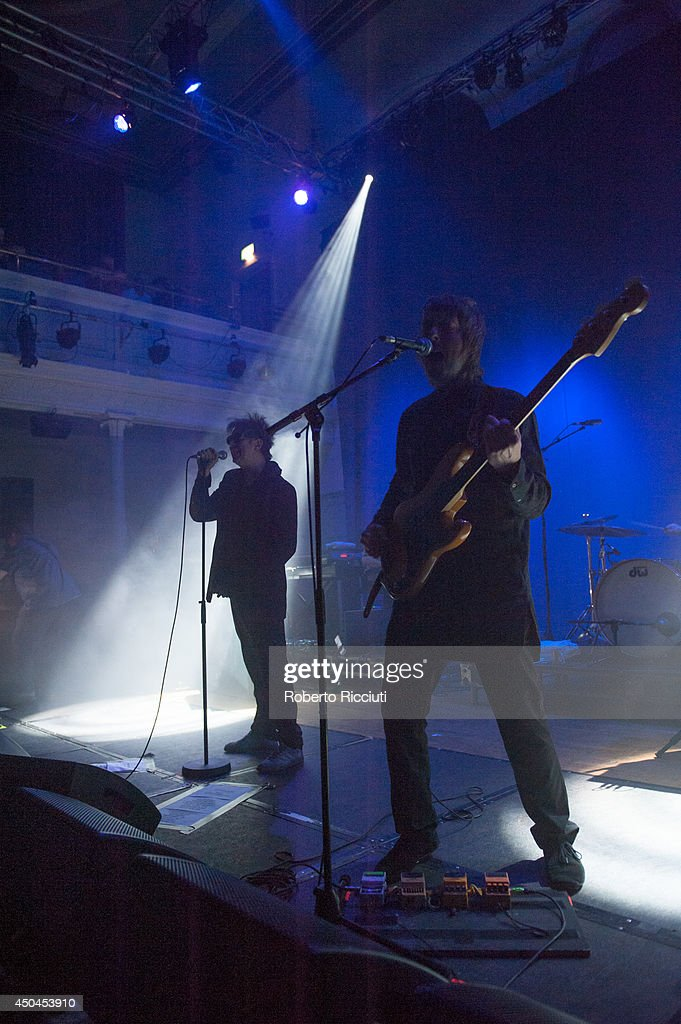 Echo And The Bunnymen Perform At Queens Hall In Edinburgh : News Photo