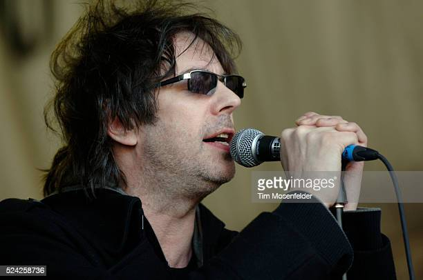 Ian McCulloch of Echo and The Bunnymen performs at the SPIN Magazine Party held at Stubbs BarBQ as part of SXSW 2009