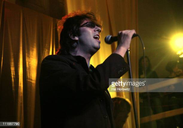 Ian McCulloch of Echo The Bunnymen during 20th Annual SXSW Music and Film Festival Blender 20th Anniversary Party at Guerrero Produce Warehouse in...