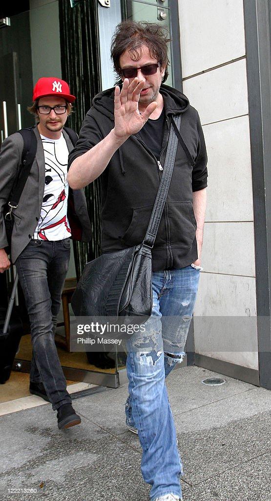 Celebrity Sightings in Dublin - July 10, 2010