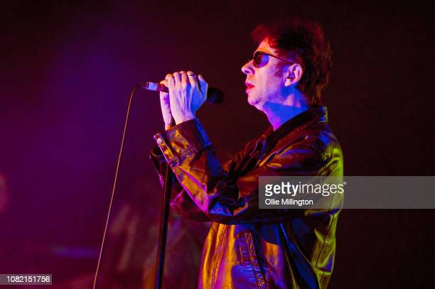 Ian McCulloch of Echo The Bunnymen performs onstage headling day 2 of Rockaway Festival 2019 at Butlins on January 12 2019 in Bognor Regis England