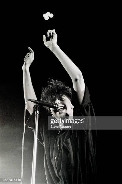 Ian McCulloch of Echo & the Bunnymen, Royal Albert Hall, London 7/19/83.