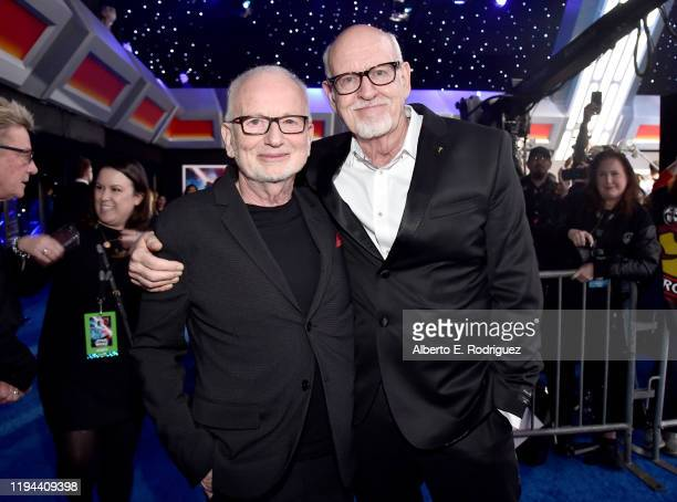 """Ian McDiarmid and Frank Oz arrive for the World Premiere of """"Star Wars: The Rise of Skywalker"""", the highly anticipated conclusion of the Skywalker..."""