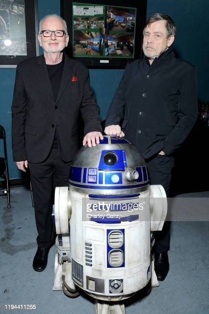 """Ian McDiarmid and Mark Hamill arrive for the World Premiere of """"Star Wars: The Rise of Skywalker"""", the highly anticipated conclusion of the Skywalker..."""