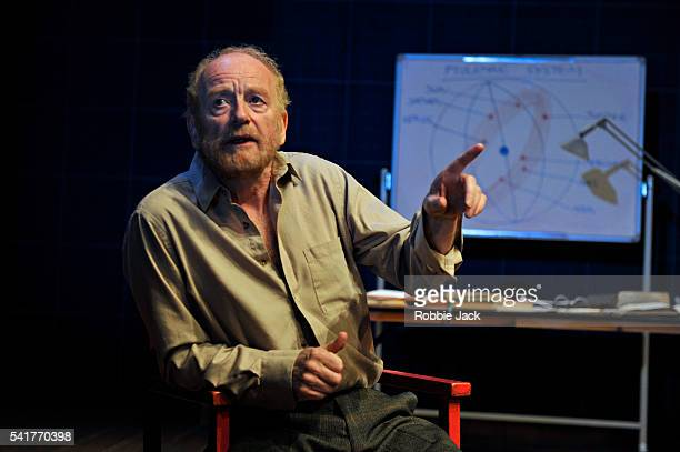 Ian McDiarmid as Galileo Galilei in Bertolt Brecht's A Life of Galileo directed by Roxana Silbert at the Swan Theatre in StratforduponAvon