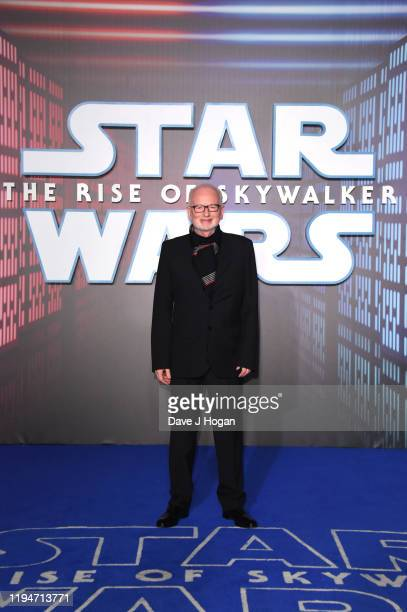 Ian McDiarmid attends Star Wars The Rise of Skywalker European Premiere at Cineworld Leicester Square on December 18 2019 in London England