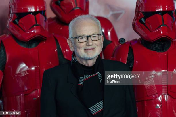 Ian McDiarmid attends the European film premiere of 'Star Wars The Rise of Skywalker' at Cineworld Leicester Square on 18 December 2019 in London...