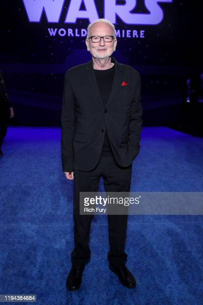 """Ian McDiarmid attends the Premiere of Disney's """"Star Wars: The Rise Of Skywalker"""" on December 16, 2019 in Hollywood, California."""