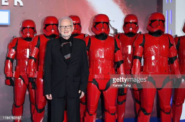 Ian McDiarmid attends the Star Wars The Rise of Skywalker European Premiere at Cineworld Leicester Square on December 18 2019 in London England