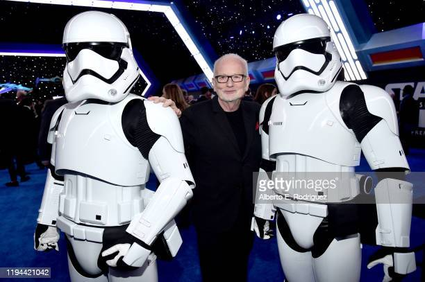 """Ian McDiarmid attends the World Premiere of """"Star Wars: The Rise of Skywalker"""", the highly anticipated conclusion of the Skywalker saga on December..."""