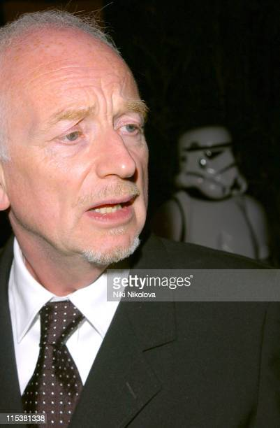 Ian McDiarmid during 2005 Cannes Film Festival - Star Wars Afterparty in Cannes, France.