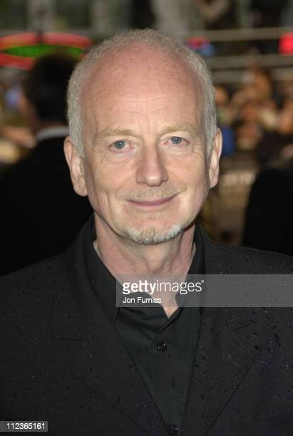 """Ian McDiarmid during """"Star Wars Episode III: Revenge Of The Sith"""" - London Film Premiere - Inside Arrivals at Odeon Leicester Square in London, Great..."""