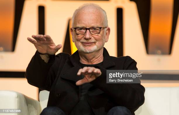 Ian McDiarmid during the Star Wars Celebration at McCormick Place Convention Center on April 15, 2019 in Chicago, Illinois.