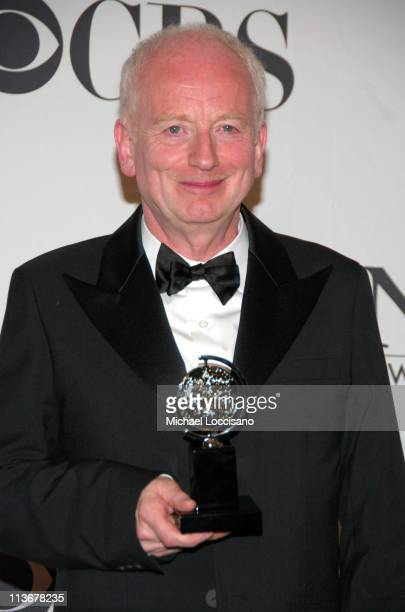 """Ian McDiarmid, winner of Best Performance by a Featured Actor in a Play for """"Faith Healer"""""""