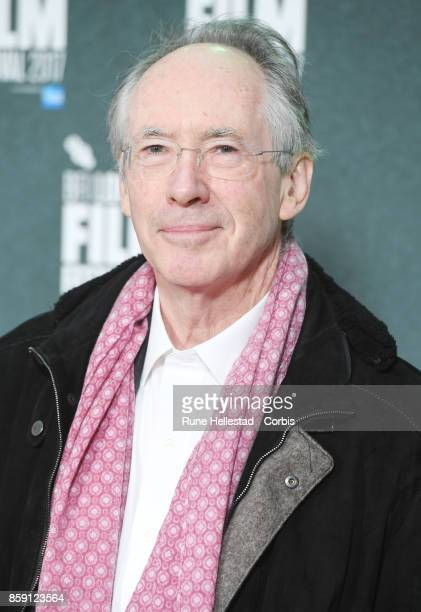 Ian McEwan attends the 'On Chesil Beach' European Premiere during the 61st BFI London Film Festival at Embankment Gardens Cinema on October 8 2017 in...