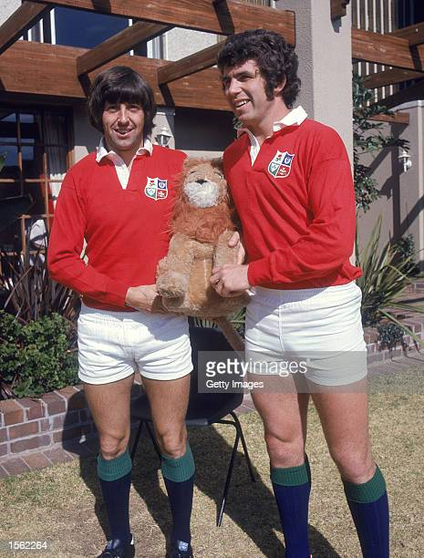 Ian McGeechan and Dick Milliken pictured during the British Lions tour to South Africa Mandatory Credit Allsport UK /Allsport